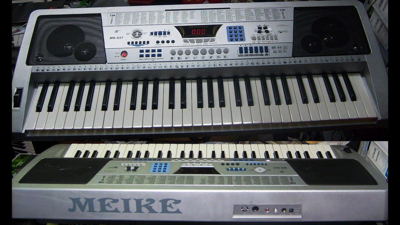meike mk 939 keyboard manual