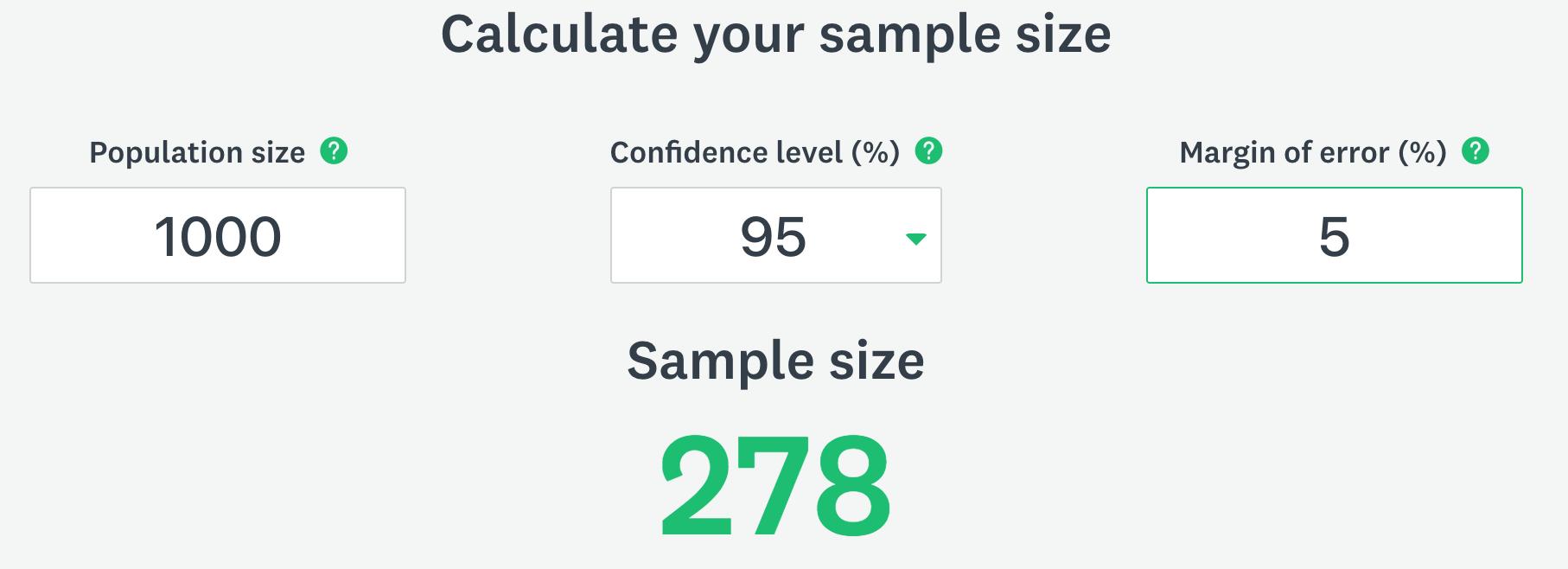 sample size bigger better explanation