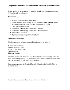 south african police clearance application form pdf