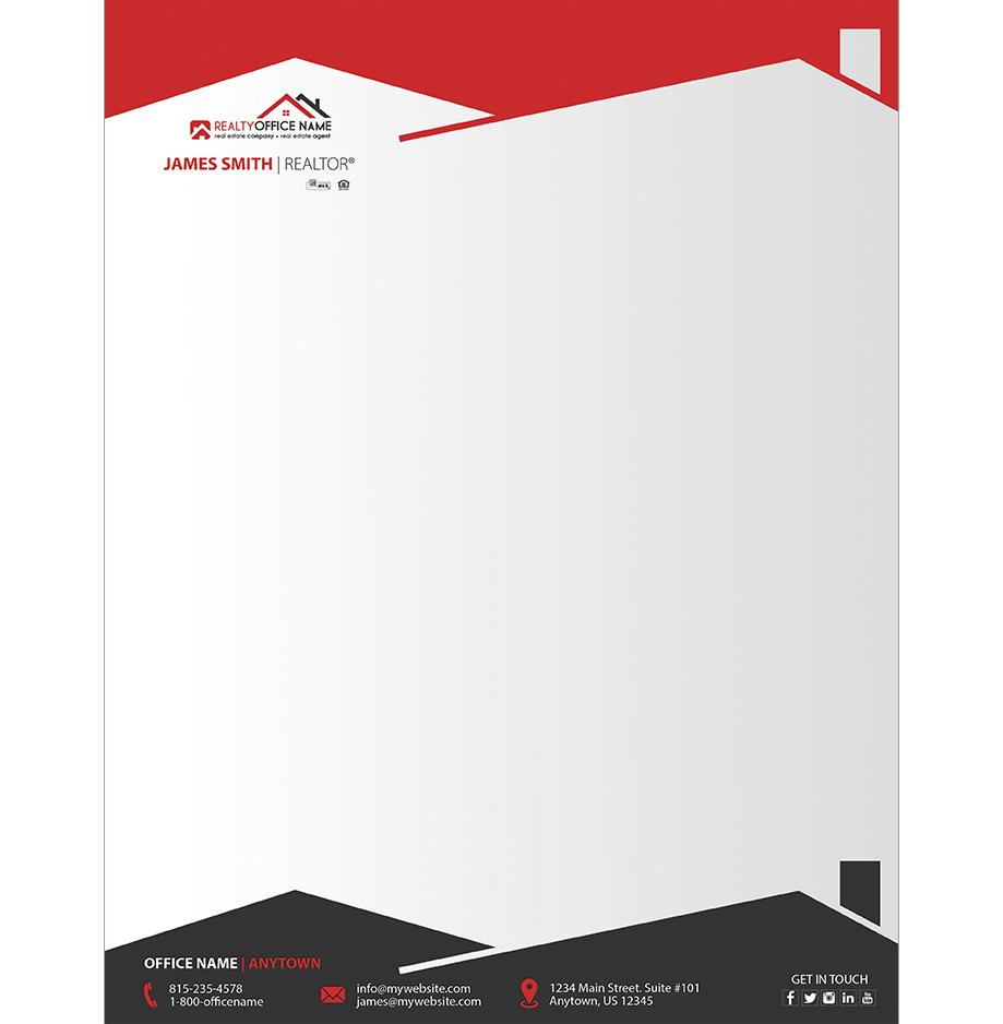 office pad design sample