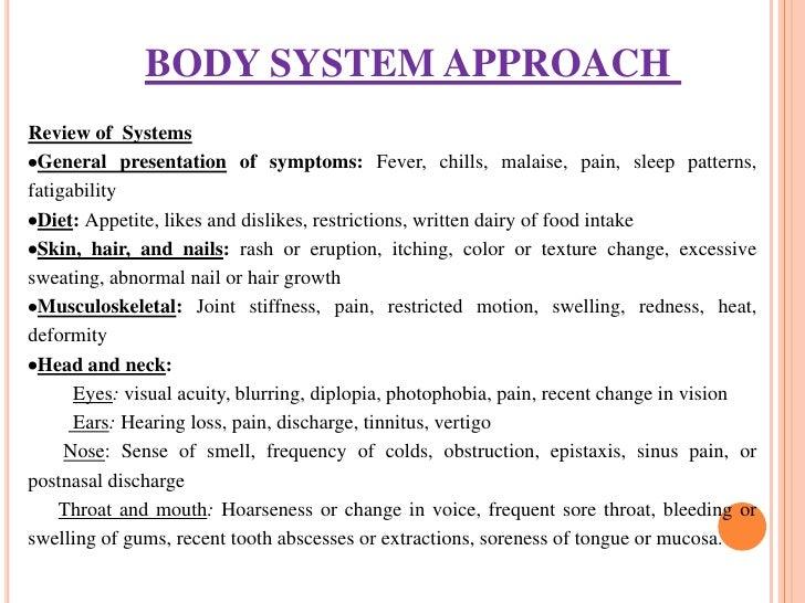 musculoskeletal assessment documentation sample