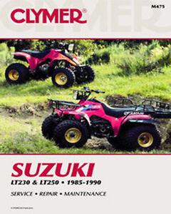 suzuki lt250 quadrunner service manual