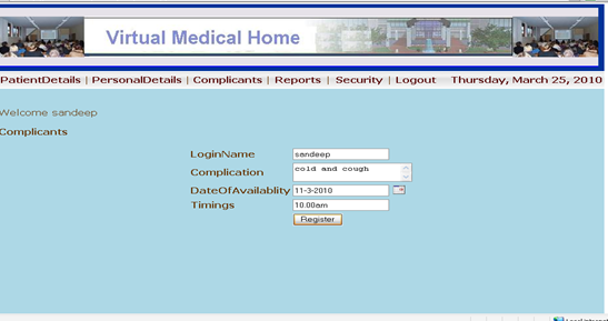 online doctor appointment system project documentation