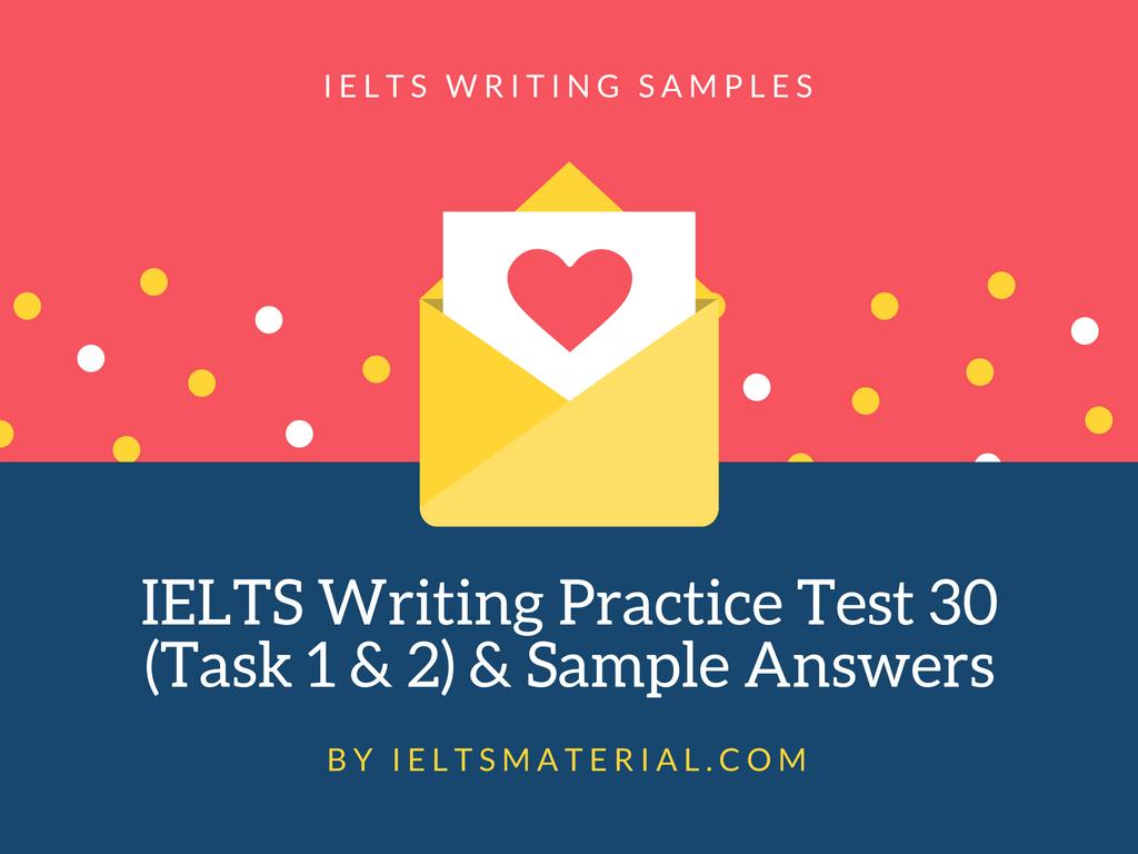 writing test task 1 sample