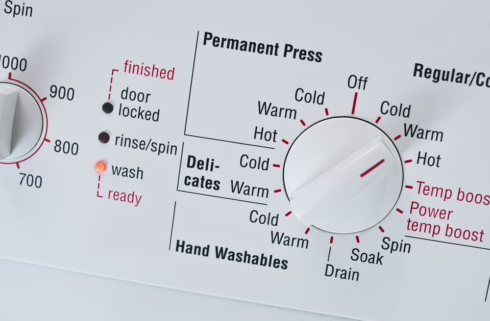 washing machine temperature guide