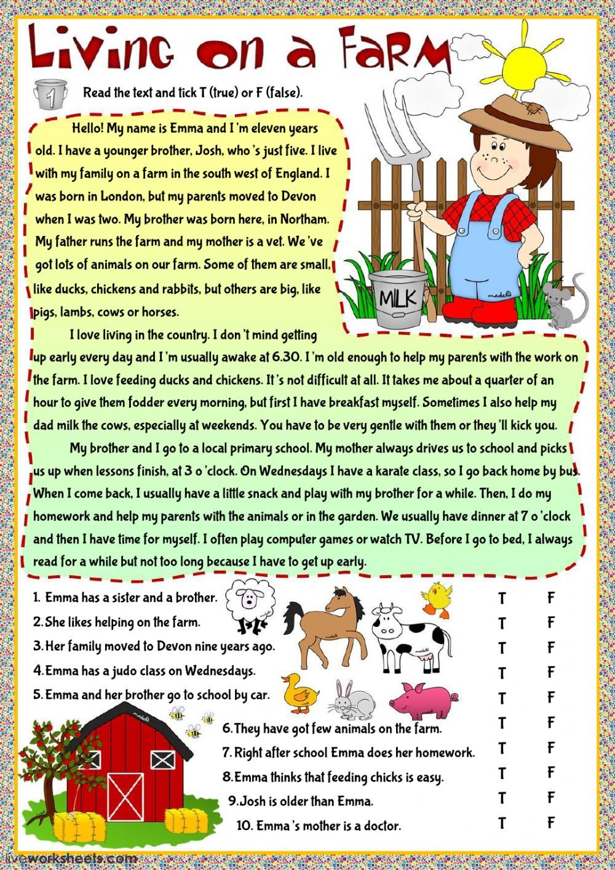 present simple exercises pdf