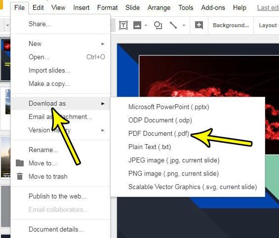pdf to google slides