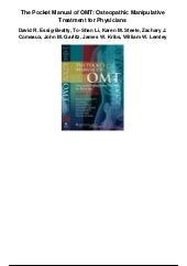 osteopathic techniques pdf