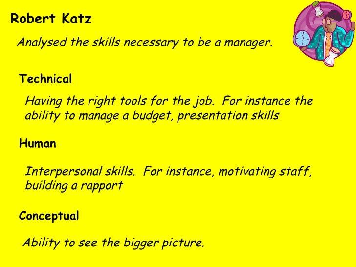 robert katz management skills pdf