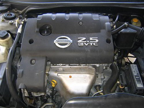 nissan engine oil guide