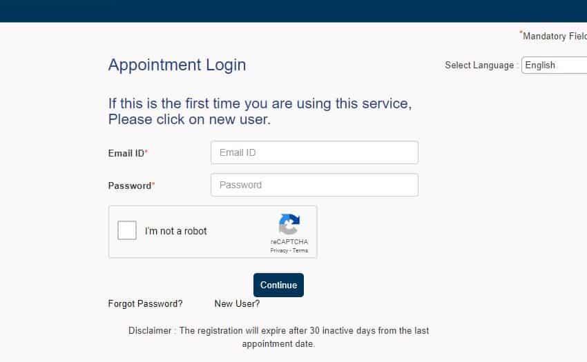 track visa application vfs