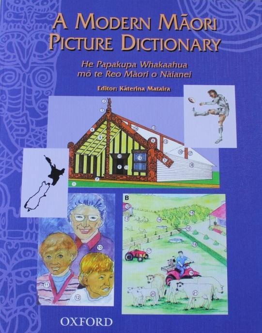 oxford maori picture dictionary