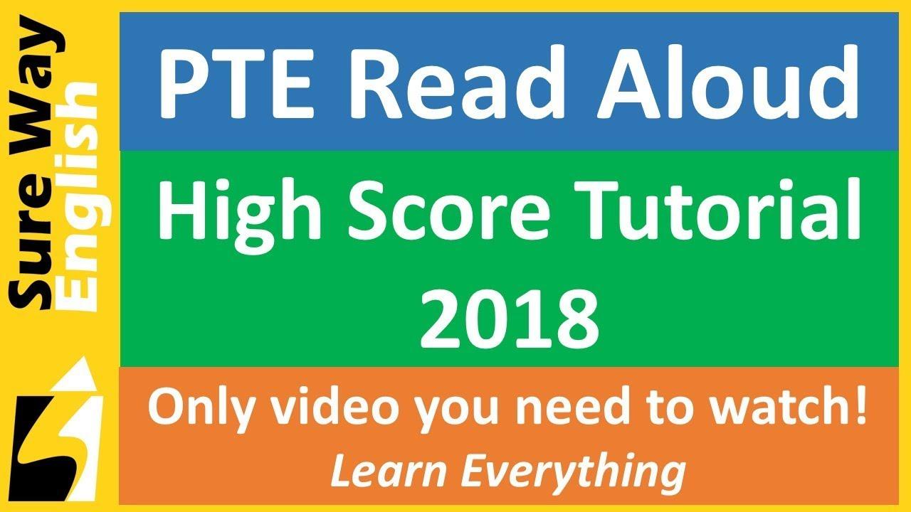 pte read aloud practice pdf