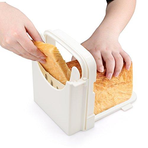 slicing homemade bread guide
