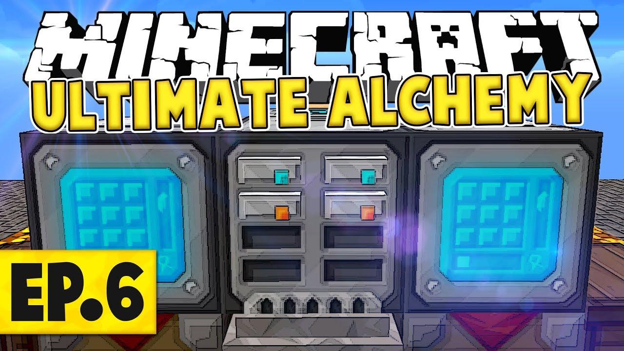 minecraft ultimate alchemy guide
