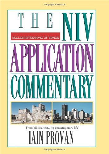 the niv application commentary from biblical text to contemporary life