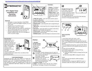 nobo heater timer instructions