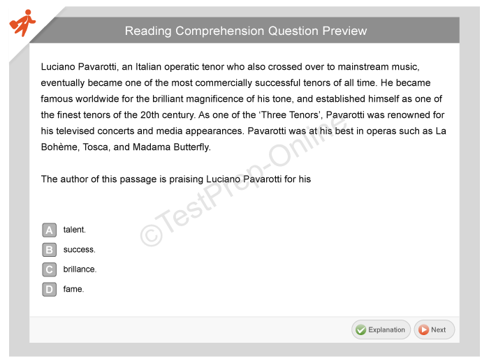 on demand assessment sample questions