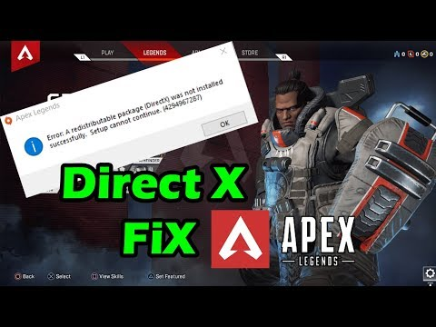r5apex application error