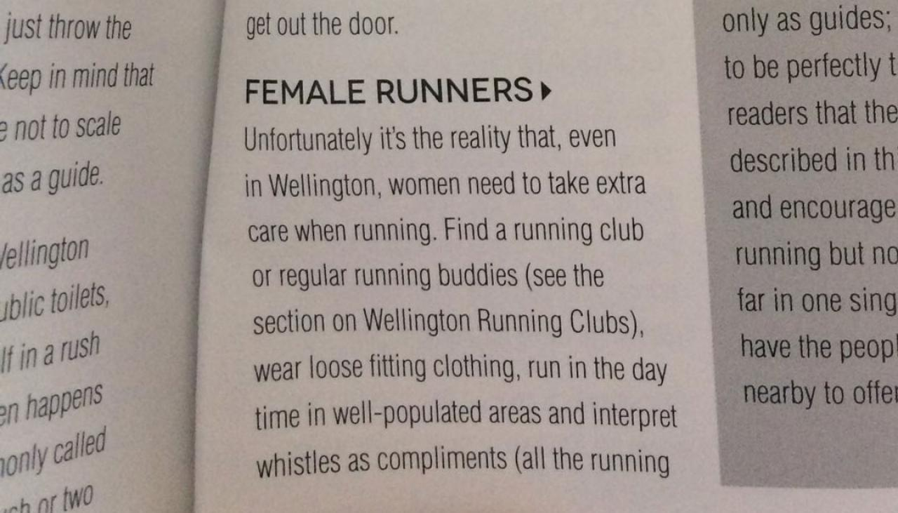 runners guide to wellington