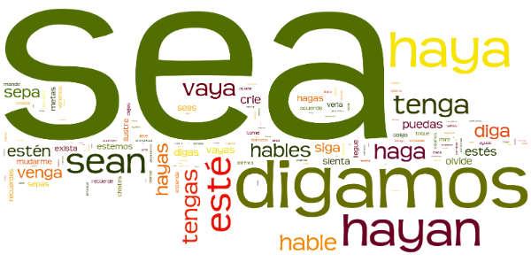 spanish dictionary subjunctive