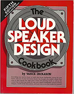 the loudspeaker design cookbook pdf