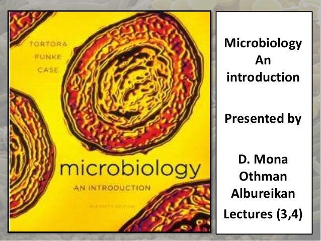 tortora microbiology pdf