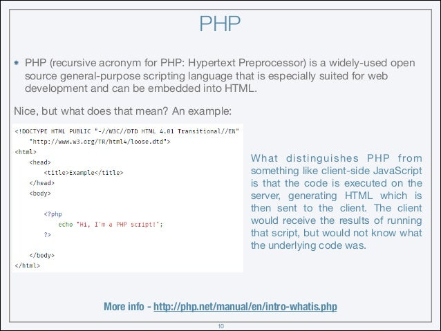 web based application projects in php
